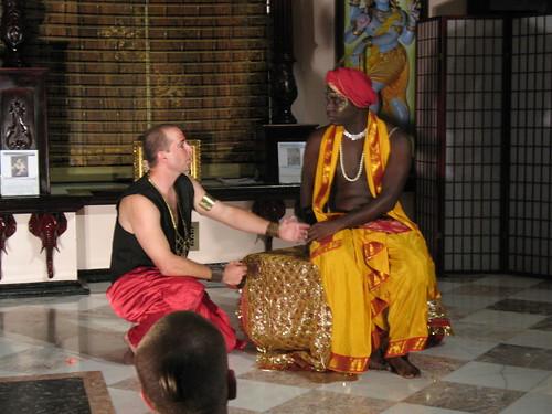 Karna and Krishna