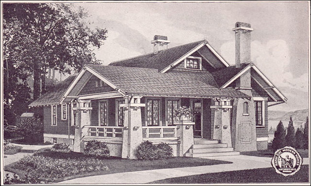See more images and floor plans from the 1923 Sears Modern Homes catalog.