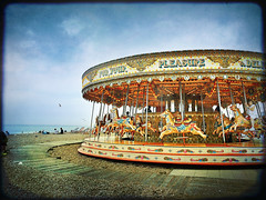 carousel (buckaroo kid) Tags: uk england beach sussex seaside brighton roundabout carousel seafront merrygoround ghostbones coastuk ssasbook