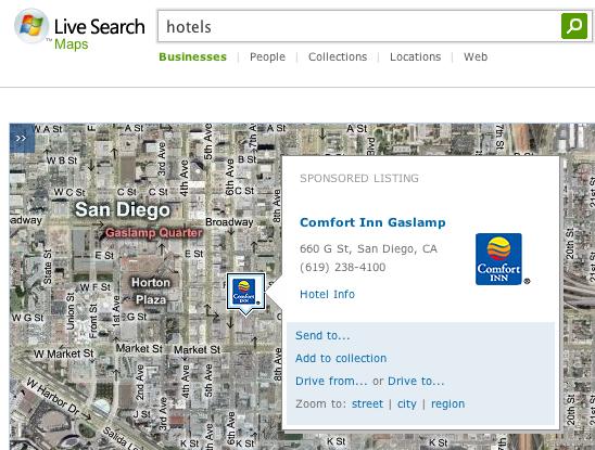 Live Maps Ads