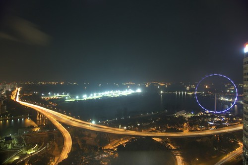 Another view, Singapore Flyer