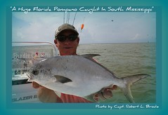 Catching Florida Pompano In South Mississippi Is A Blast! - Kevin Toncrey of Biloxi caught this massive Florida pompano while fishing aboard TEAM BRODIE CHARTERS - Photo By Capt. Robert L. Brodie (teambrodiecharters) Tags: pompano floridapompano fish fishing angler kevintoncrey bottomfishing surffishing nicefish nicecatch teambrodiecharters bigfish beautifulfish charterboat guideservice island islandfishing barrierislands snubbednosedart fisherman pomp sightfishing lighttacklefishing fishingcharters ms mississippi biloxi shipisland bottomfeeder bottomdweller