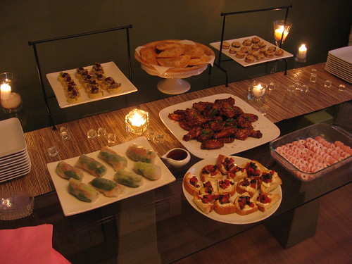 Girls Party Buffet
