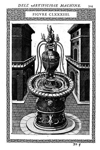 15- Fuente con ocho caños en forma de serpiente