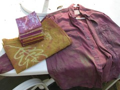 Fabric & shirt transformed