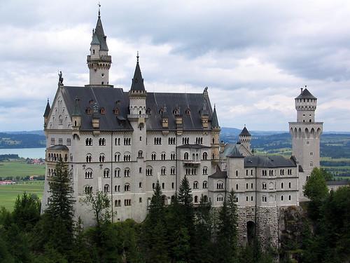 The famous castle - Neuschwanstein