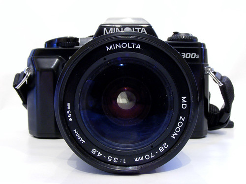 Minolta X-300s Film SLR 28-70mm Zoom