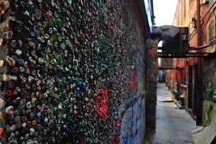 Bubblegum Wall (dekka69) Tags: wall annarbor bubblegum