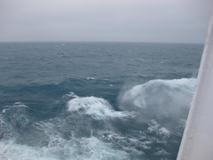 Rough Waves on QE2 (Toni Campbell) Tags: ice fire lands qe2 irishsea roughwaves