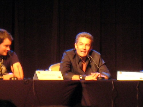James Marsters at the Torchwood panel
