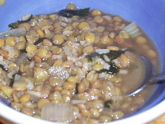 Hearty Lentil and Sea Vegetable Soup