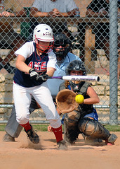 Get it down (chemisti) Tags: sports texas allen softball fastpitch d300 18u tokinasl400mmf56sd capturenx2