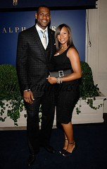 lebron james and a sexy broad