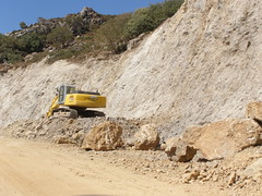 road works hania chania