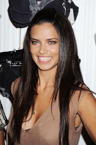 victoria secret model adriana lima. hair Adriana Lima Model