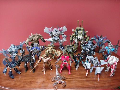 Transformers Decepticons Movie 2007-2008