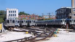 I <3 trains.. (Mr. Montrose) Tags: usa chicago lawrence illinois cta trains christiana trainyard kimball albanypark ltrains eltrains kimballyard