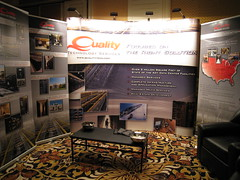 Quality Technology Services booth