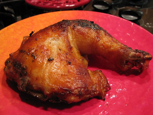 Smoky Grilled Butterflied Chicken