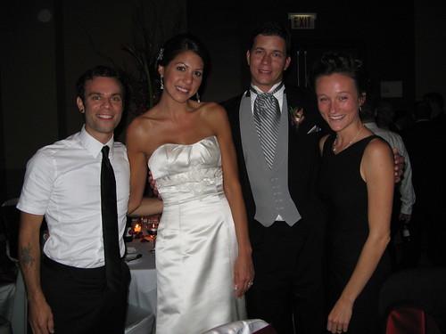 Robbie, Alicia, John and Petra