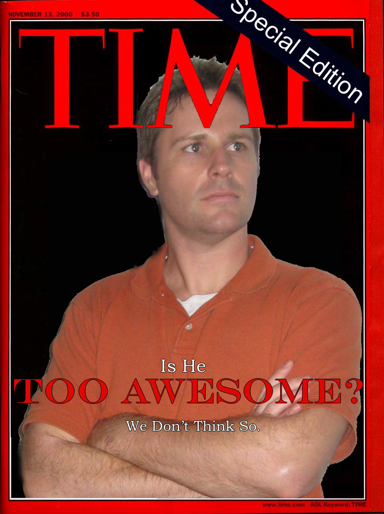 My Time Magazine cover