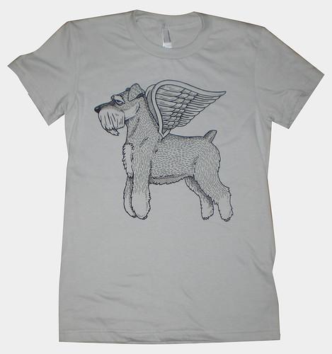 Flying Schnauzer Women's T-Shirt