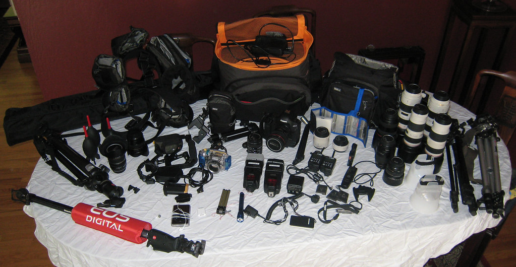Camera Gear Updated