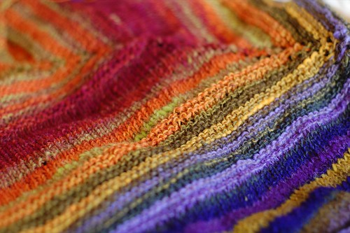 simple noro shawl/scarf thingy