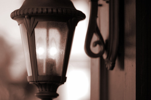 """These lovely lamps, these windows of the soul"""