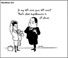 024_bizzbuzz_my WE-ness + your WE-ness (maurice.heuts) Tags: togetherness management manager cartoons consulting businesscartoons manage consultants weness managementcartoons managementbycartoons myweness yourweness bizzbuzz bizztoons joremjeukze tinuswink