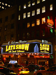 Ed Sullivan Theater - Home of Late Show with David Letterman (Jim Lambert) Tags: nyc newyorkcity people usa ny newyork streets cars us neon traffic unitedstates manhattan broadway lateshow taxis nighttime pedestrians 2008 automobiles taxicabs neonsigns lateshowwithdavidletterman sidewalksofnewyork edsullivantheater nighttimephotography davidlettermanshow yellowcabs west50s december2008 fall2008 12032008 december32008 16971699broadway 3december2008
