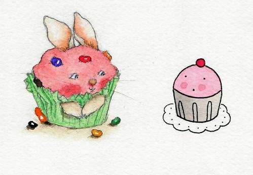 Cup-bunny meets Cuppie