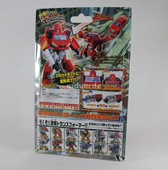 Transformers Ironhide Classic Henkei - caja (by mdverde)