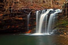 Lower Falls of Greg's Two Falls (the waterfallhunter) Tags: longexposure waterfall littlerivercanyon wolfcreek dekalbcounty fortpaynealabama wolfcreekcanyon greggstwofalls