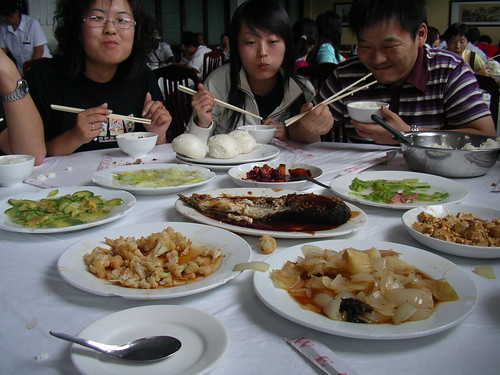 A Chinese lunch