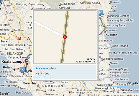 3094731083 9ed5d113ba o Heading to Terengganu with guidance from Google Map & Live Search Map