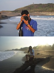 Pineeda (pinedamayo) Tags: sunset sun beach sand wave playa arena ola
