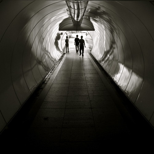 Tunnel Light and Silhouette