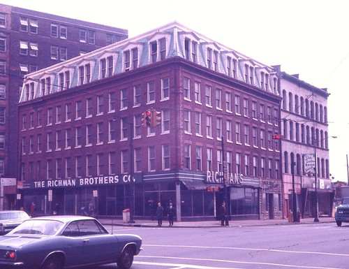 Mechanics Block Bldg Nov 1970