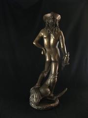 beautiful pirate boy (mereshadow) Tags: boy david beautiful statue bronze badass pirate immortal androgyny donatello