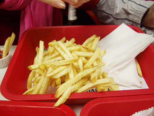fries @ in-n-out