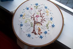 Ghost Birds embroidery