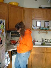 Sacagawea Making Food