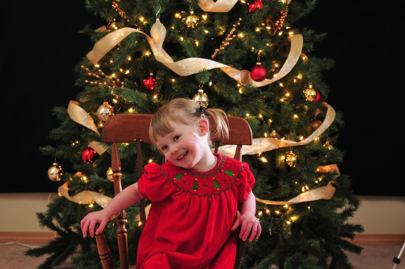 Eliana's Christmas 2008