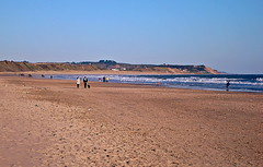 Curracloe Beach 1 (Saving Private Ryan) (A guy called John) Tags: ireland irish film beach water grass tom strand movie private sand waves ryan eire omaha steven saving seashore wexford dday spielberg irlanda irlande tomhanks ierland hanks omahabeach stevenspielberg savingprivateryan marran curracloe ukandireland ballinesker