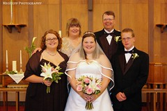 Bride and family 2 (meghuff) Tags: wedding august iowa picnik mhp ejwedding