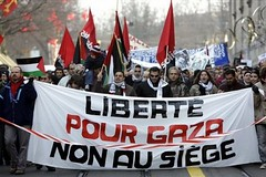SWITZERLAND PROTEST ISRAEL PALESTINIANS by pinkturtle2