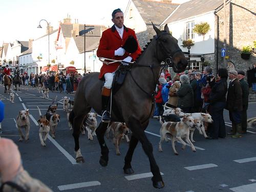 Boxing Day Hunt in Cowbridge