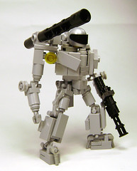 Full Metal Jacket (DARKspawn) Tags: robot doll power lego space suit armour mecha bot mech hardsuit classicspace powerarmour