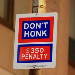 NYC Sign (jjambien1) Tags: nycstreetsign canon40d deptofenvironmentalprotection 350penalty jjambien1